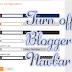 Cara Terbaru Menghapus Navbar Bloger
