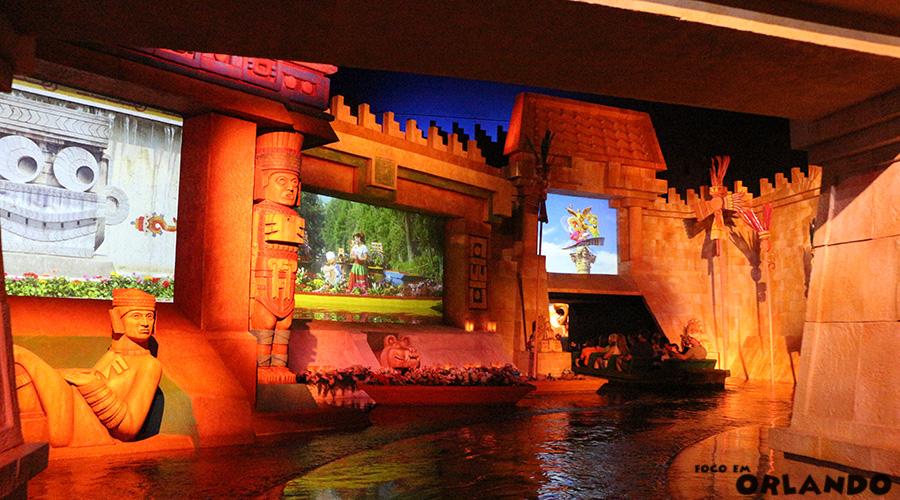 Gran Fiesta Tour Starring the Three Caballeros, Epcot