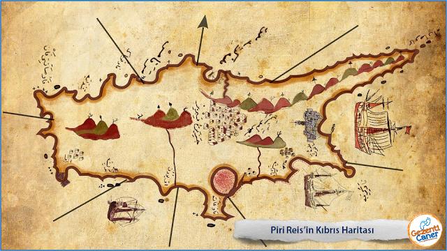 Piri-Reis-Kibris-Haritasi