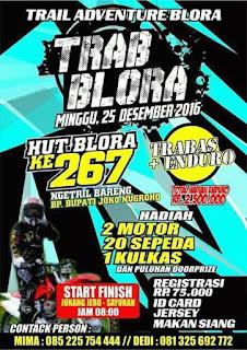 Event Trail : TRAB BLORA - Blora - JALUR TRABAS.COM