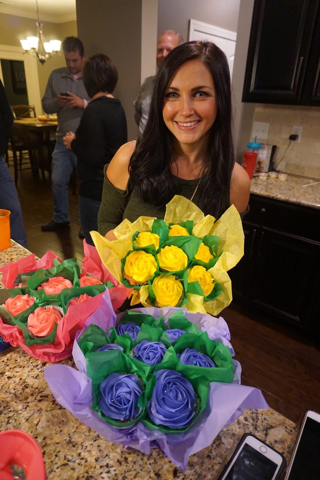 Cupcake Bouquets, Birthday Party cake alternative