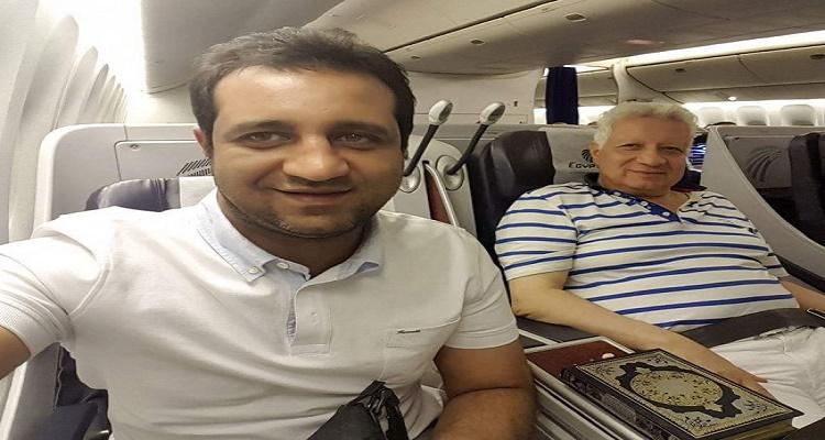 كلام لا يصدق من مرتضى منصور لحظة وصوله السعودية لأداء مناسك الحج