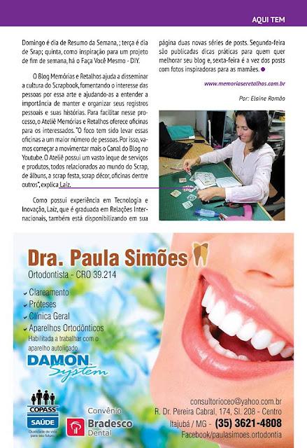 Matéria especial - Memórias e Retalhos na Revista Guia da Mantiqueira