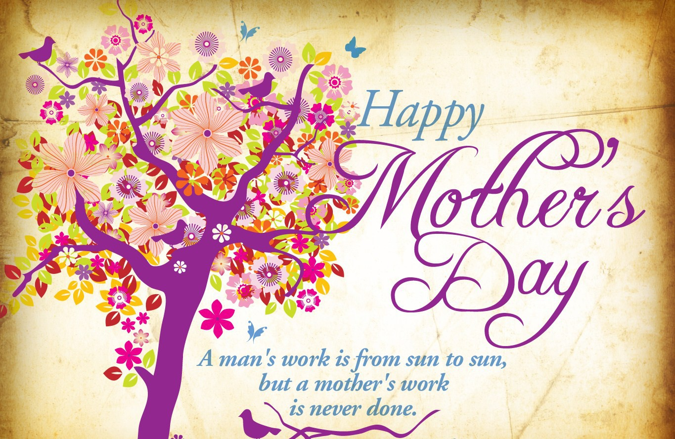 Wallpaper Of Happy Mothers Day: Free Holiday Wallpapers