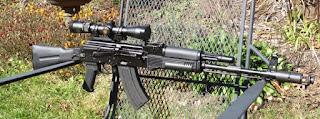 Senapan Serbu Kalashnikov AK-107/ 108 (Alexandrov / Kalashnikov)