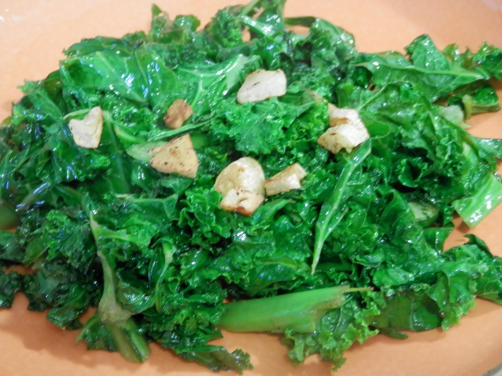 Kale al ajillo la receta m s f cil de cocinar kale for Cocinar kale sarten