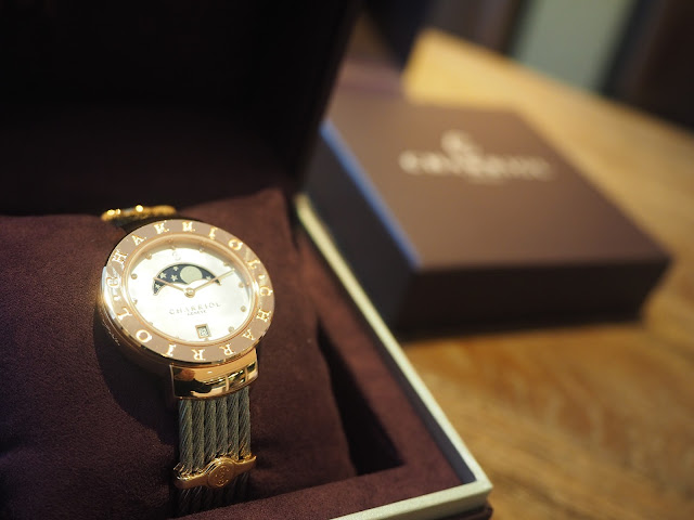 St-Tropez 35 Watch with Moon Phase for women review