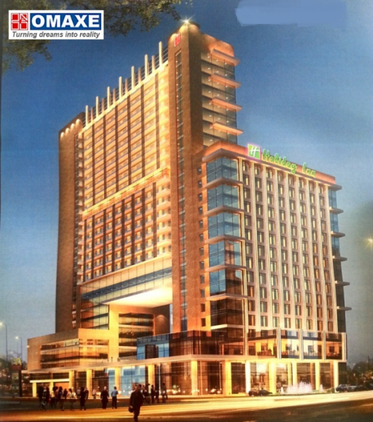 omaxe hotel holiday inn office space mullanpur