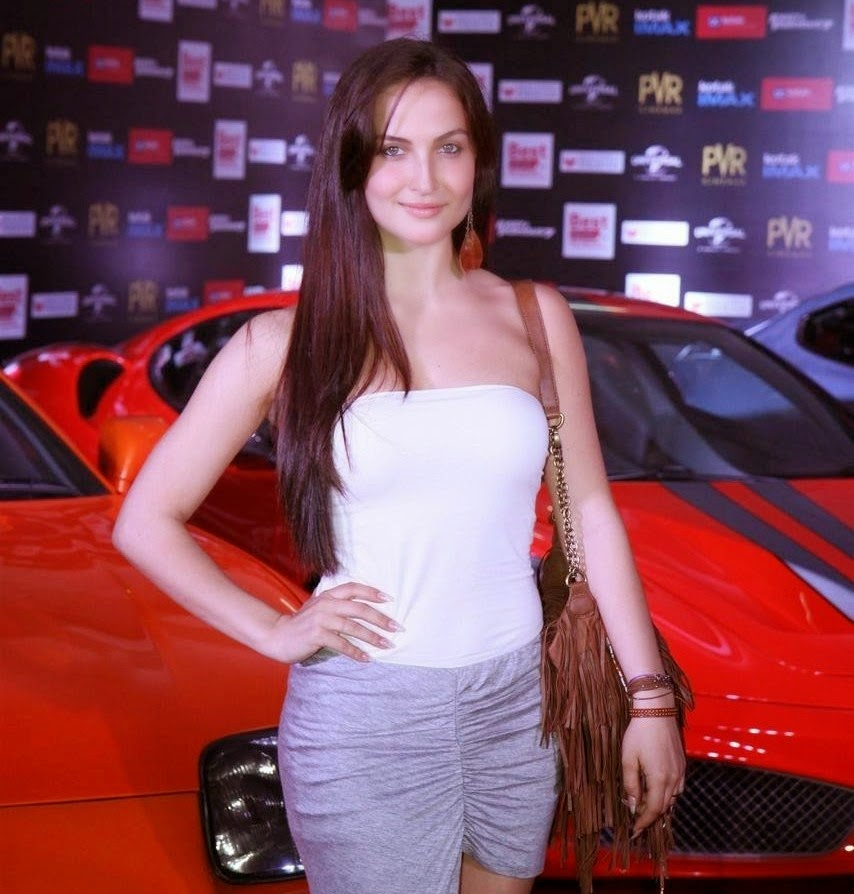 Elli Avram latest stills at Fast and Furious 7 Movie Premiere Show