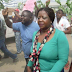 The internet never forget! See photos of Buhari's aide, Lauretta Onochie protesting against fuel subsidy 5 years ago