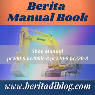Excavator komatsu pc200-8 pc200lc-8 pc220-8 pc220-8