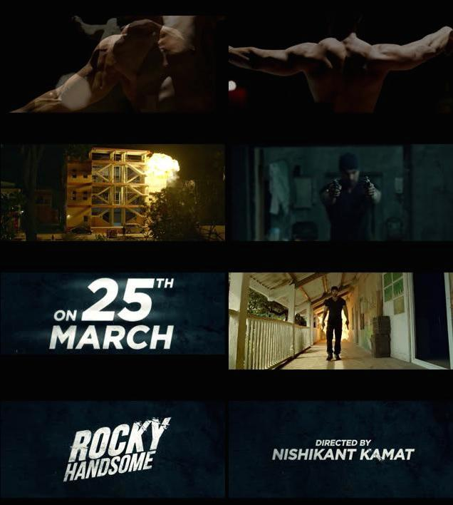 Rocky Handsome Official Teaser Trailer 720p HD Download