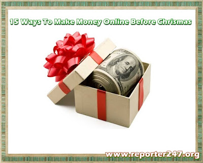 Ways To Make Money Online Before December