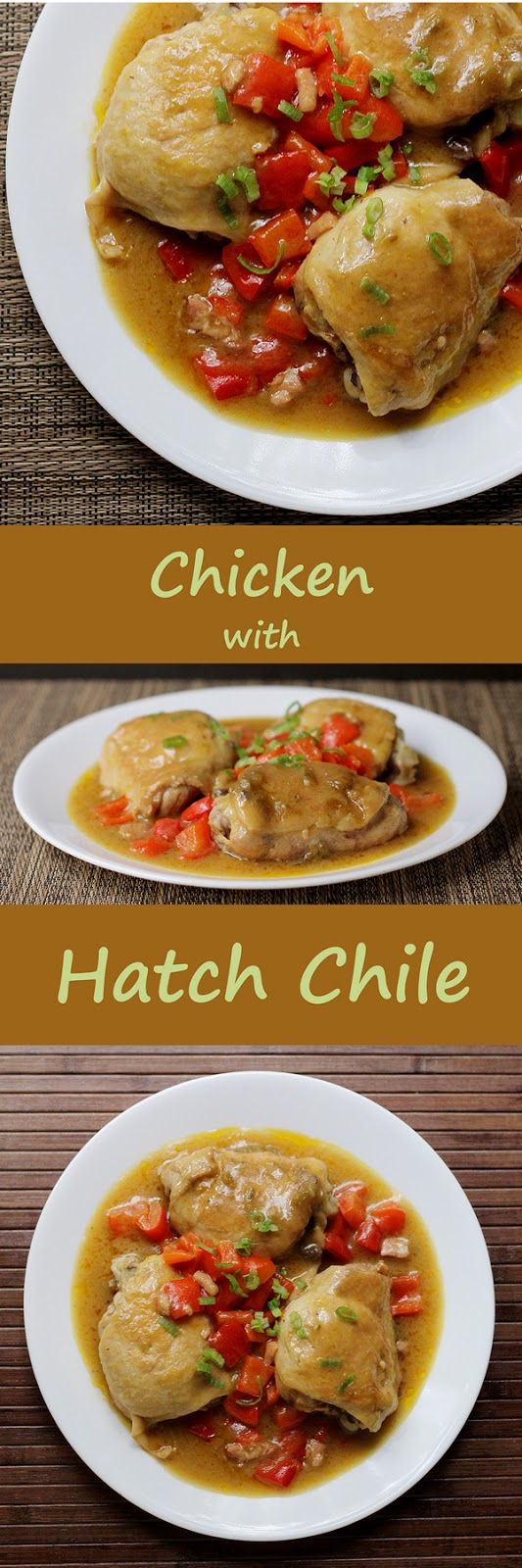 Quick and Easy Chicken with Hatch Chiles