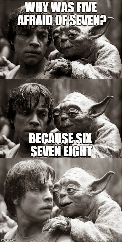 Funny Skywalker Yoda Joke Fail Joke Picture