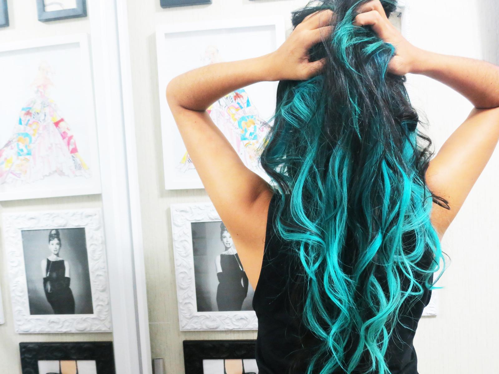 Pequena Notável: Cabelo cor fantasia - New Hair