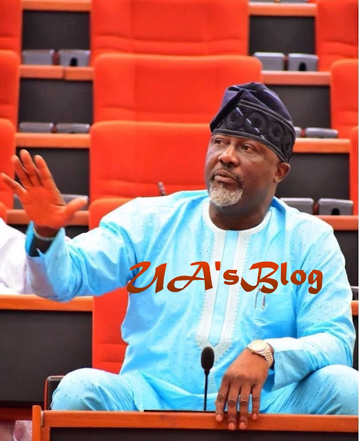Senator Dino Melaye Raises Alarm As He Squares Up With Police In Abuja