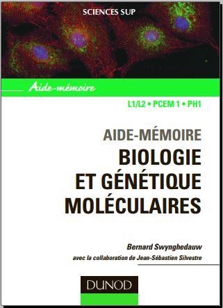 Livre : Aide-mémoire - Biologie et génétique moléculaires L1/L2, PCEM1, PH1