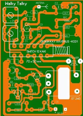 Pemancar Radio Atau Transmitter frekwensi 27Mhz