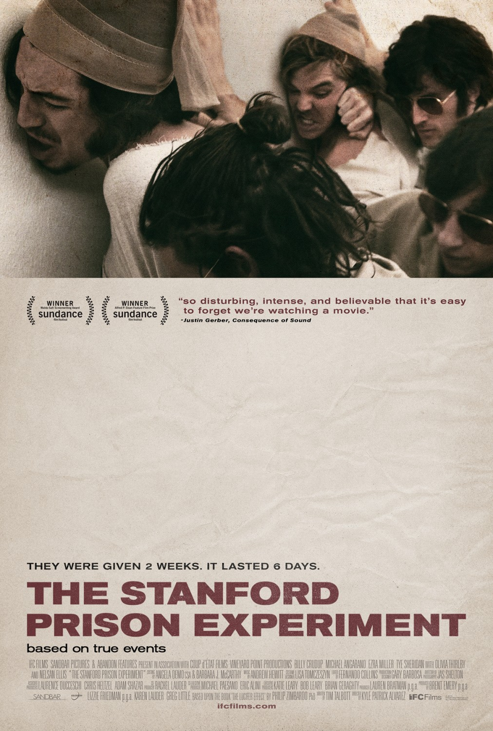 stanford prison experiment review Kyle patrick alvarez's aptly titled movie the stanford prison experiment recreates dr philip zimbardo's famous and controversial 1971 psychological study.