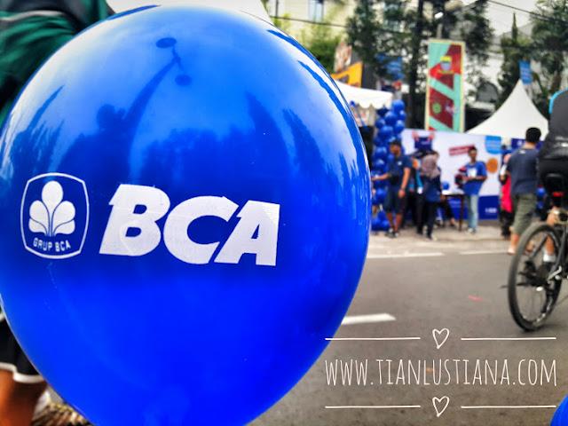 Bersama BCA di CFD Dago