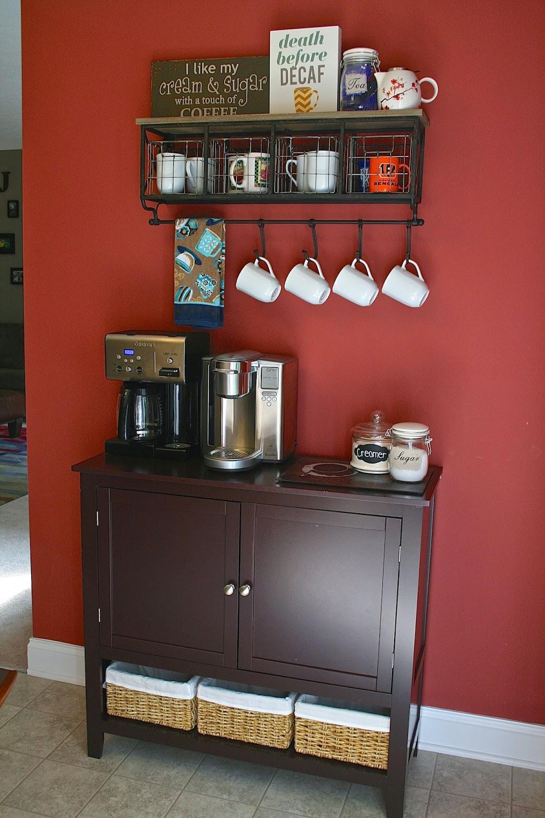 Oregon Transplant: Home Decor: Coffee Bar