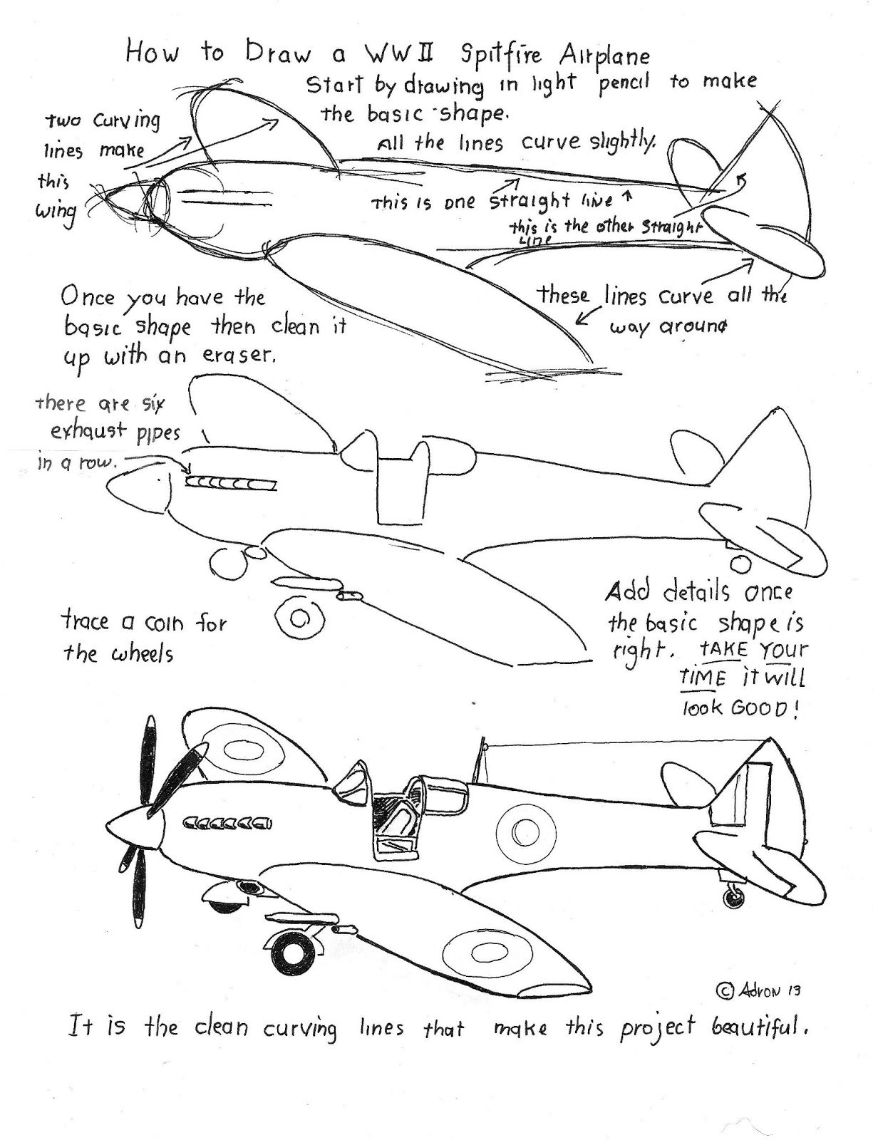 How to Draw Worksheets for The Young Artist How To Draw An – Wwii Worksheets