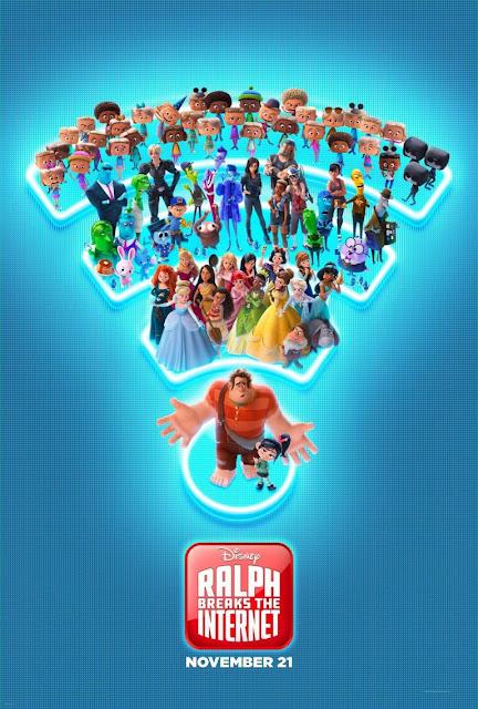 Poster e segundo trailer de Detona Ralph 2
