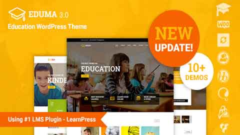Education v3.1.3 Responsive WordPress Theme