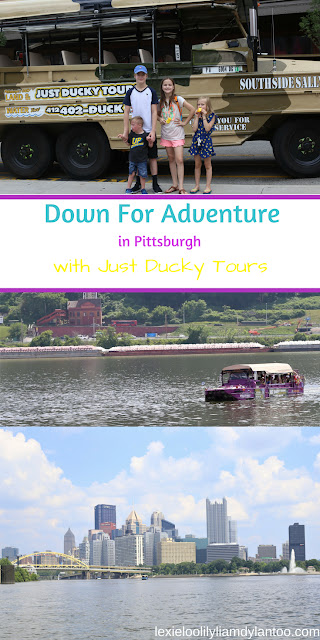 Down For Adventure in Pittsburgh with Just Ducky Tours