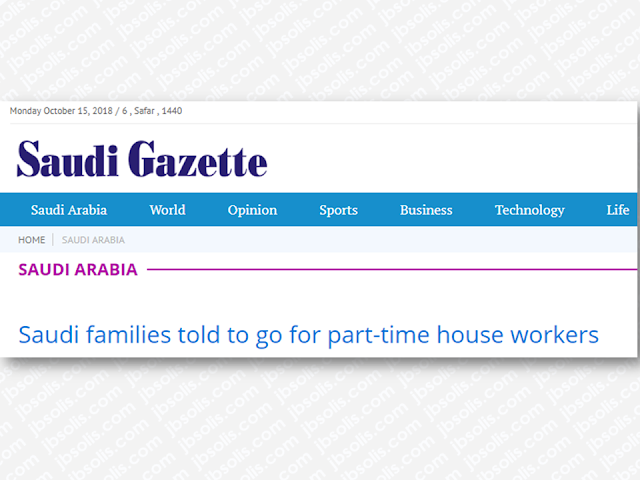 "Although it is not clear that several cases of abuse and maltreatment have something to do with it, Saudi Arabia is currently experiencing difficulty in hiring household workers from outside the country according to the news published in the Saudi Gazette. As an advice, recruitment experts told Saudi families to avail the services of part-time household workers instead.    Ads      Sponsored Links  Recruitment experts advise Saudi families to use the services of part-time house workers in the face of growing difficulties in importing labor from abroad.  The recommendation came as Indonesia and some other countries expressed their reluctance to allow the recruitment of their nationals to work full-time in Saudi households.  Mustapha Al-Abdaljabbar, an owner of a recruitment office, said the Indonesian government was refusing to allow sponsorship of its nationals by Saudi individuals to work at their homes even if the recruitment was done through a recruitment office.  ""A lot of people are opting for part-time domestic workers. There are recruitment offices that are specialized in recruiting part-time domestic workers now. These offices will be able to execute Indonesian workers' recruitment as opposed to offices that recruit full-time domestic workers for individuals,"" said Al-Abdaljabbar.  He said the fate of the agreement between the Kingdom and Indonesia on the recruitment of domestic labor was still unclear. The price of recruitment is undefined and it is hard to define as it will depend on supply and demand, he added.  According to Hakeem Al-Khinaisi, another recruitment agent, there are three types of recruitment offices: offices that do not allow the transfer of sponsorship, offices that allow transfer and offices that allow clients to rent workers on an hourly basis.  Filed under the category of abuse and maltreatment, Saudi Arabia, Saudi Gazette, recruitment, Saudi families, household workers"