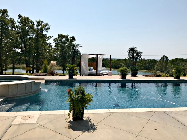 Okc designer showhouse tour part 2 dimples and tangles for Pool show okc