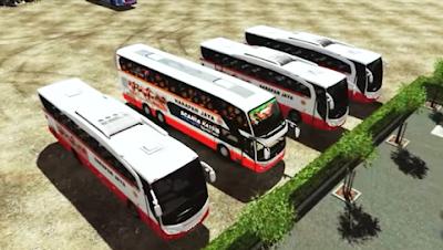 bus harapan jaya bus yang banyak terdapat di jawa timur