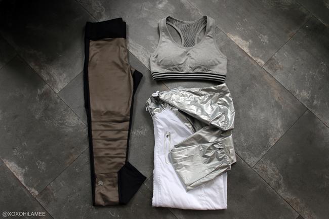 Japanese Fashion Blogger,Mizuho K,6月に買ったモノ,Forever21-アクティブウェアー レギンス、スポーツブラ、ウィンドブレーカー
