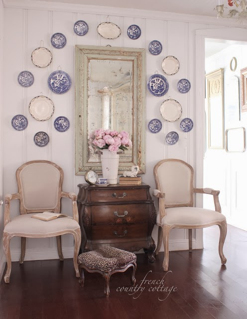French Country Fridays- Knotty Pine Walls Love