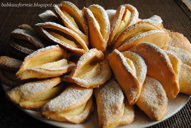 ciasteczka serowe z jabłkami babkawformie.blogspot.com