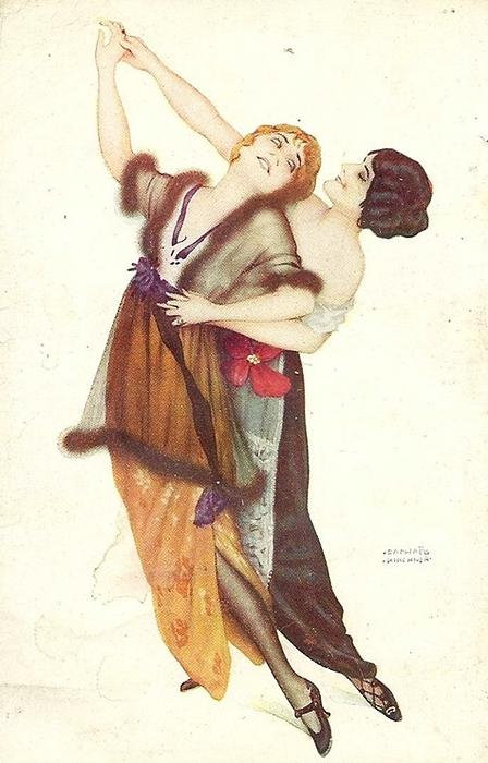 "Cartoline ""Vintage"" Raphael%2BKirchner%2B2"