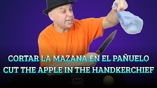 Cortar la manzana en el pañuelo, INERTIA, Cut the apple in the handkerchief