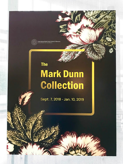 The Mark Dunn Collection At The Internation Quilt Study Center & Museum Visited By Thistle Thicket Studio. www.thistlethicketstudio.com