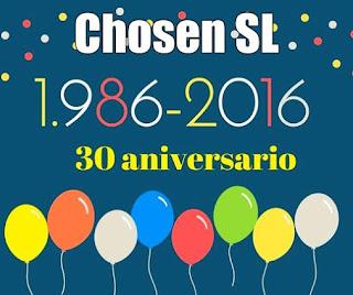 30 aniversario de talleres Chosen, talleres de chapa y pintura en Móstoles