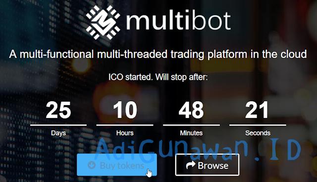 Panduan Investasi ICO di Multibot Token (MBT), Pemahaman Sistem Investasi ICO di Multibot, serta Cara Deposit Multibot Token (MBT) dan Trading / Menjual Multibot Token (MBT), Review Multibot