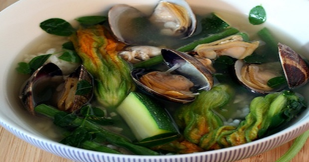 Dinengdeng: Filipino Vegetable Soup With Manila Clams Recipe