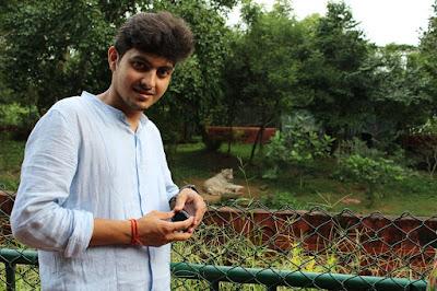 Rishabh Datta in Nandankanan Zoological Park