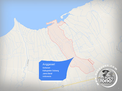 Peta Desa Anggasari, Kecamatan Sukasari