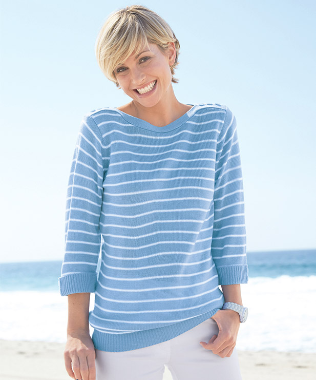 Dammer Boat Neck Sweater