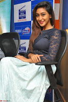 Shravya in skirt and tight top at Vana Villu Movie First Song launch at radio city 91.1 FM ~  Exclusive 44.JPG