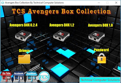 TCS Avengers Box Collection With Drivers Free Download