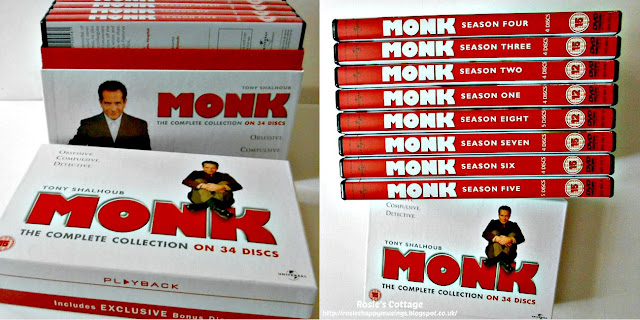 Some DVD box set suggestions for when you just need a sofa day...Monk.