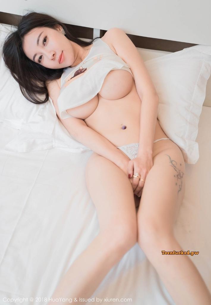 HuaYang 2018 10 23 Vol.090 Victoria Guo Er MrCong.com 017 wm - HuaYang Vol.090: Người mẫu Victoria (果儿) (43 ảnh)