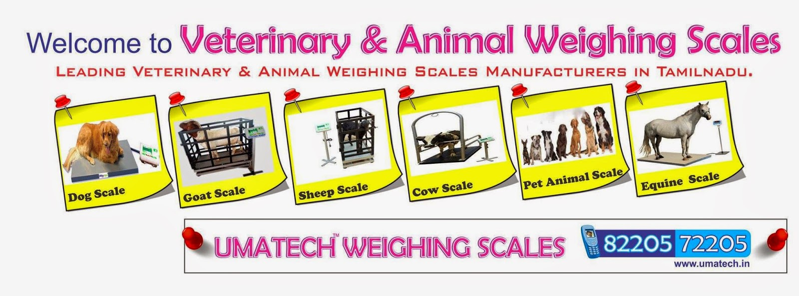 Tamil Nadu Veterinary and Animal Weighing Scales Manufacturers and